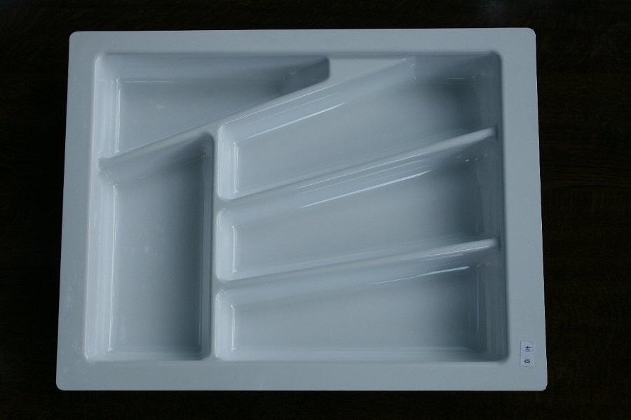 Wkład szuflady 430x40 biały (33cm x 43cm x 5cm)