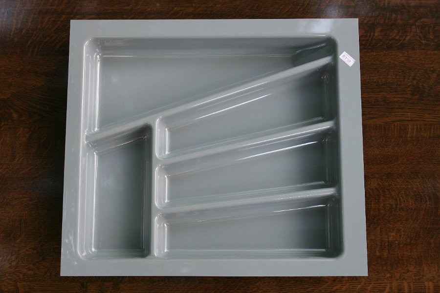 Wkład szuflady 430x45 aluminium (38cm x 43cm x 5cm)