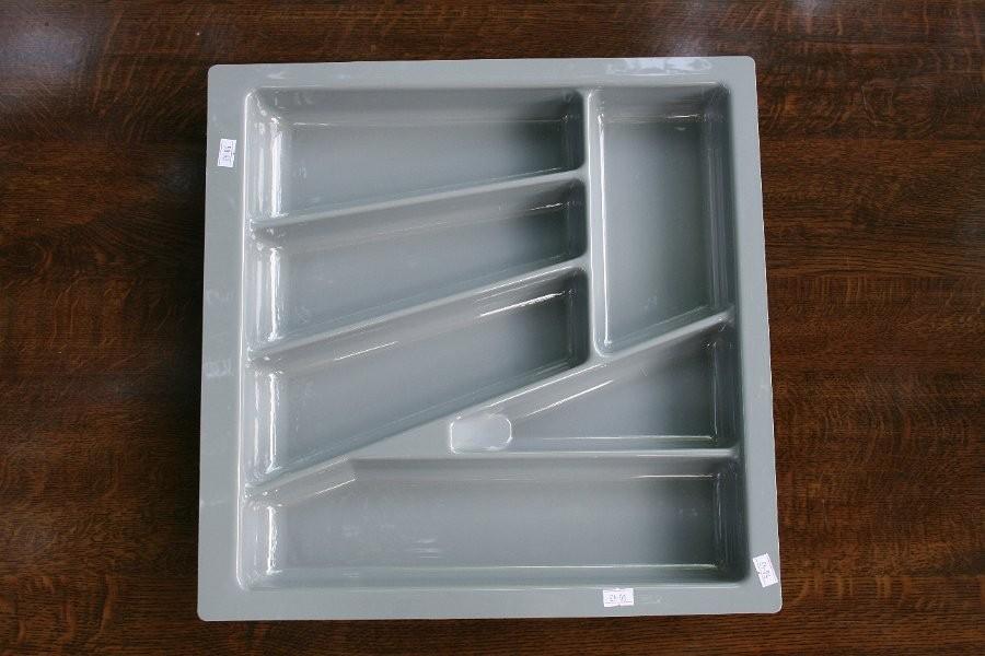 Wkład szuflady 430x50 aluminium (43cm x 43cm x 5cm)
