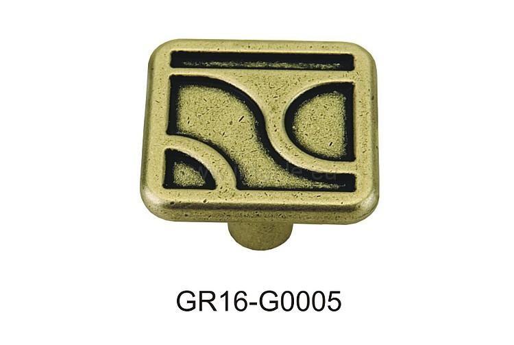 gałka meblowa GR16 stare złoto