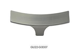 gałka meblowa GU2207 szlif, inox, gamet