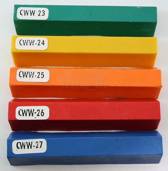 kredka do usuwania rys z mebli: CZERWONY (CWW 26)