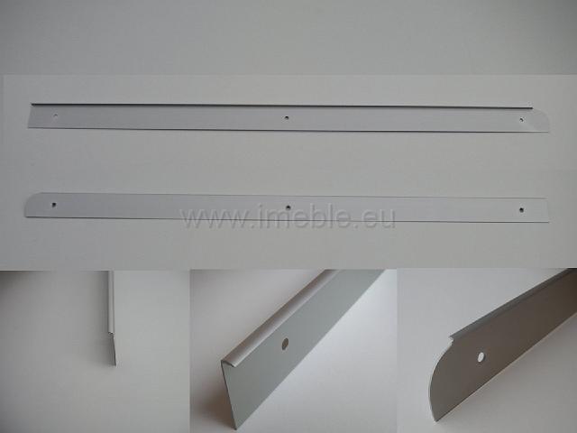 Listwa zakończenia blatu - metal aluminium PRAWA