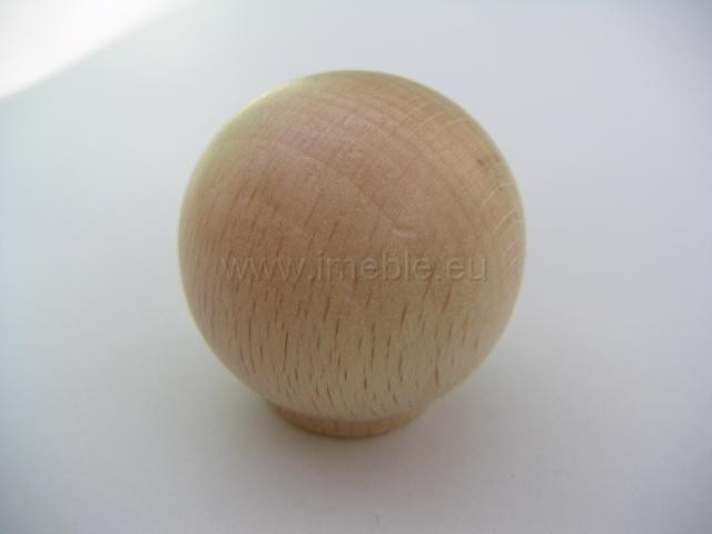 Gałka drewno kula buk
