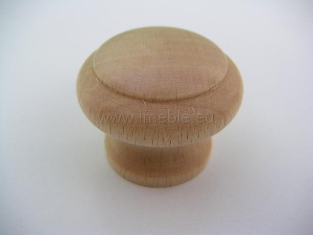 Gałka drewno mała buk