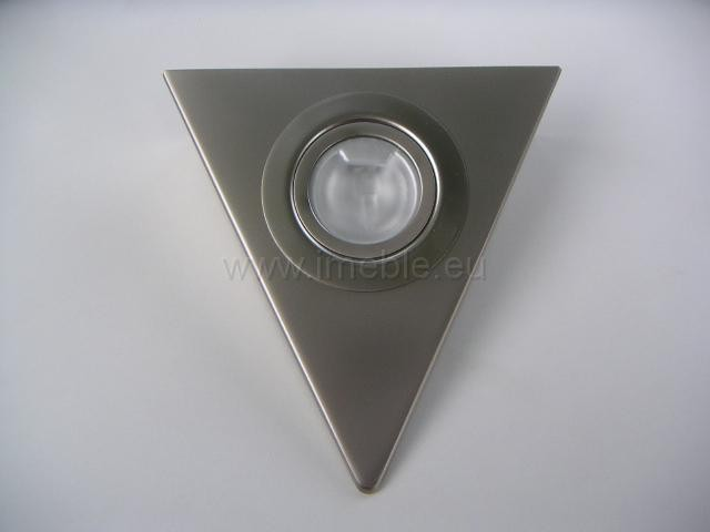 Lampka/Trójkąt podświetleniowy satyna bez wyłącznika