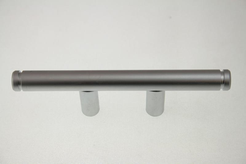 Uchwyt meblowy relingowy REFR08, F10, 32mm, aluminium, gamet