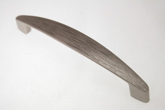 Uchwyt meblowy  UN17-011, 128mm, stare srebro, gamet