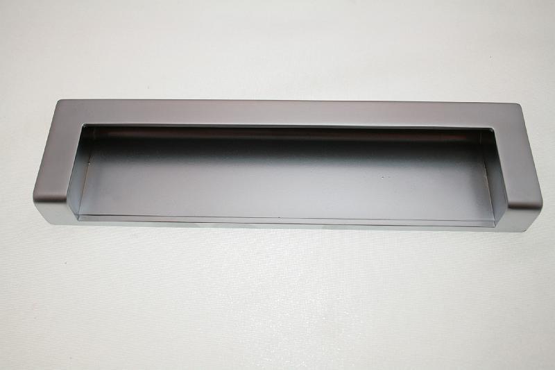 Uchwyt meblowy wpuszczany UN59/160mm aluminium