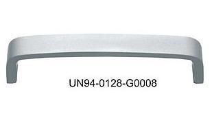 Uchwyt meblowy UN9408/128 alumnium, rozstaw 128mm, gamet