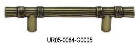 uchwyt meblowy UR05/64mm stare złoto
