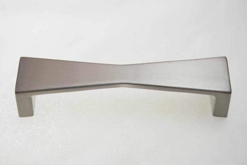 Uchwyt meblowy UU2307, szlif, gamet, 96mm