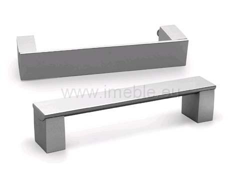 Uchwyt WPY-337B/128 aluminium