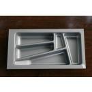 Wkład szuflady 430x30 aluminium (23cm x 43cm x 5cm)