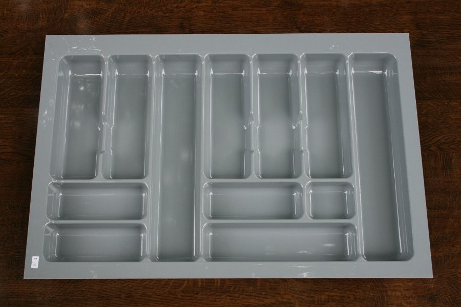 Wkład szuflady 490x80 aluminium ( 74cm x 49cm x 5cm)