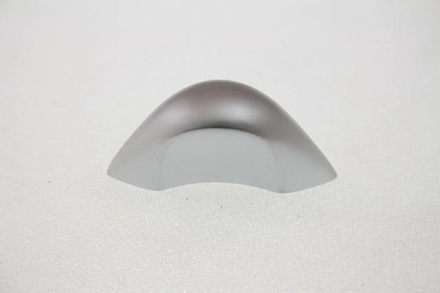 gałka meblowa A-125-G6 aluminium, nomet