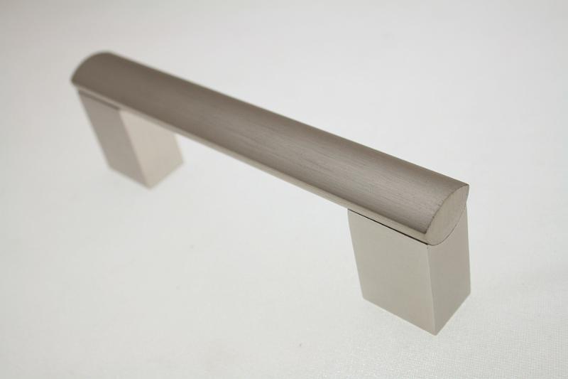 Uchwyt meblowy AA04/128 szlif, rozstaw 128mm, GTV