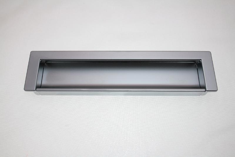 Uchwyt meblowy wpuszczany C-1755/160mm aluminium