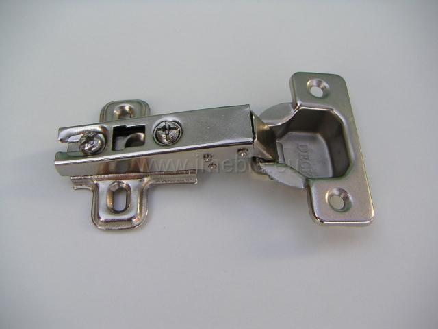 Zawias puszkowy prosty Interex z prowadnica H-0