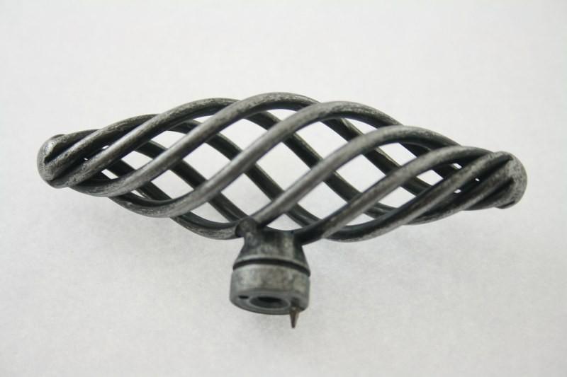 gałka meblowa GC02 G011 stare srebro, gamet (US-P10074-07))