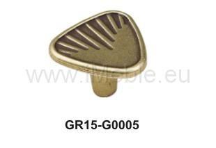 gałka meblowa GR1505 stare złoto, gamet