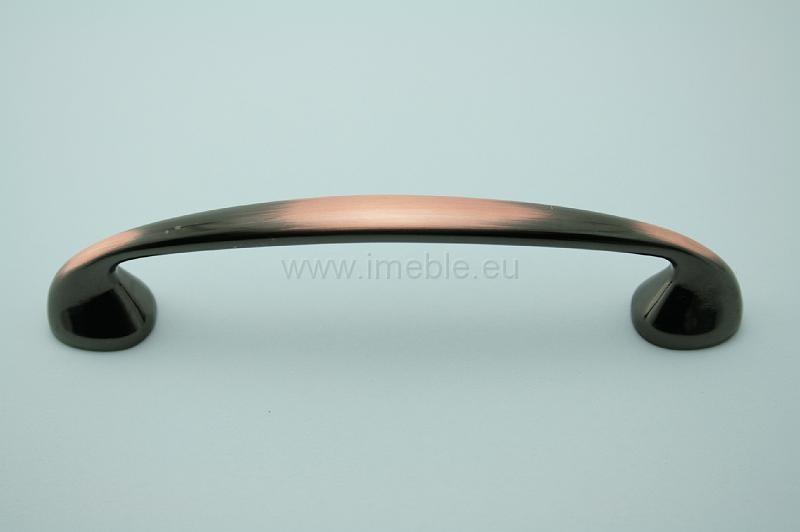 Uchwyt meblowy UN1401/D/96 miedź, rozstaw 96mm