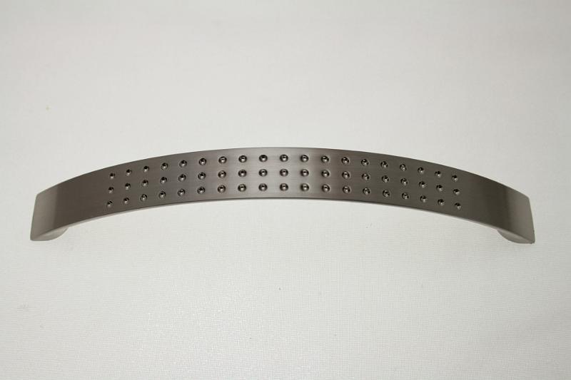 Uchwyt meblowy UT4107, szlif, gamet, 128mm