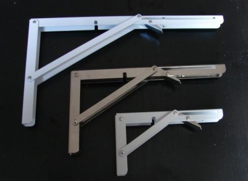 Kątownik rozkładany Torremat do blatu 40cm biały