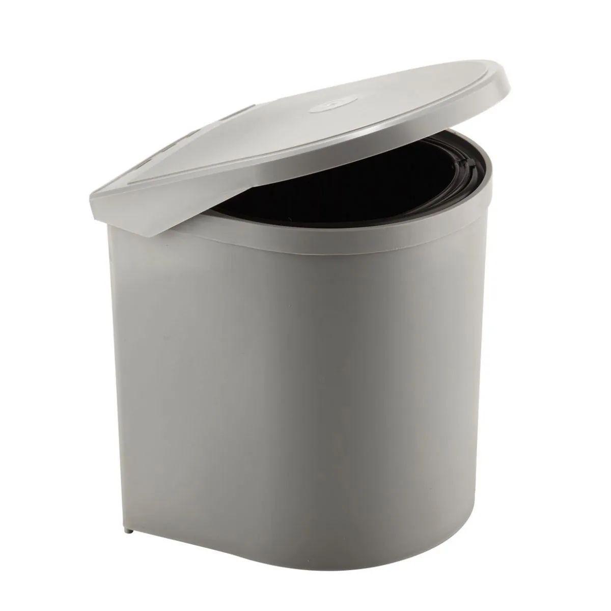 Kosz na śmieci automatyczny do szafki szary 10L