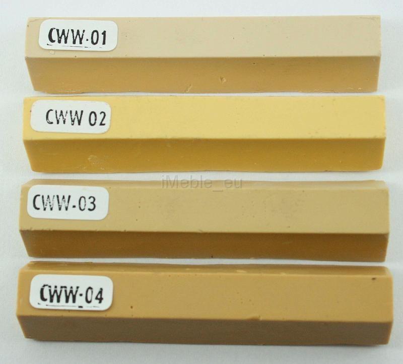 kredka do usuwania rys z mebli: CZYSTA BIEL (CWW 20)