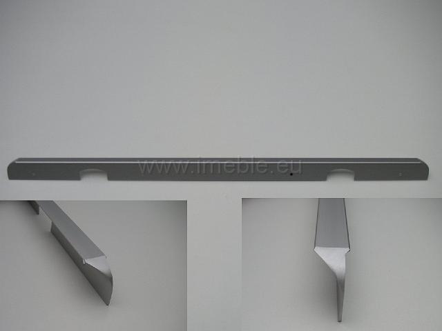 Listwa łączenia blatów 90stopni - metal aluminium
