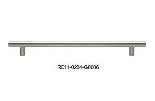Uchwyt relingowy 416/496 satyna Gamet RE10