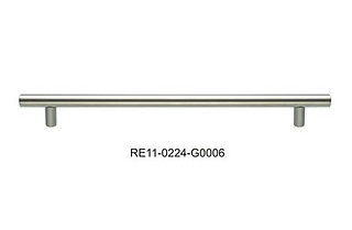 Uchwyt relingowy 160/220 satyna Gamet RE10