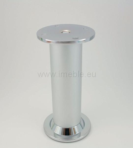 Nóżka NA1008 chrom/aluminium