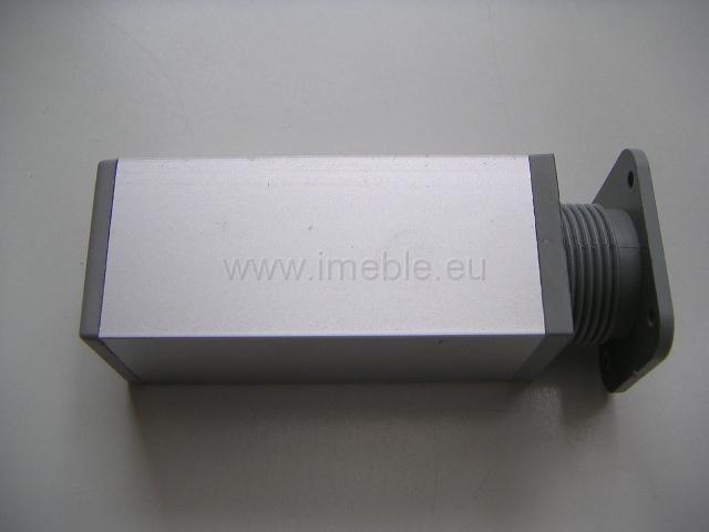 Nóżka aluminiowa H-15 kwadrat