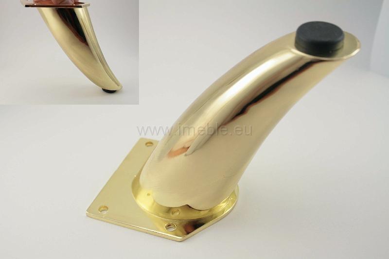 Nóżka NZ0303 złoto