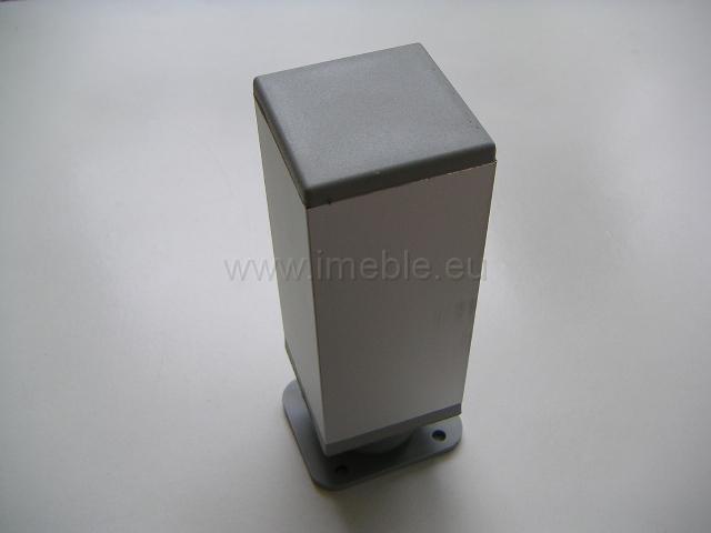 Nóżka aluminiowa H-6 kwadrat