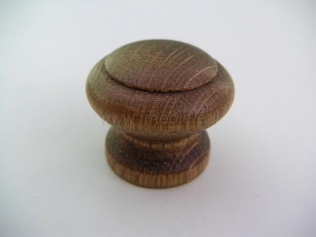 Gałka drewno mała rustikal