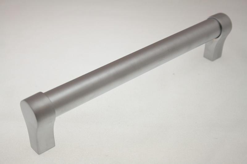 Uchwyt meblowy relingowy RE0308, 128mm, aluminium, gamet