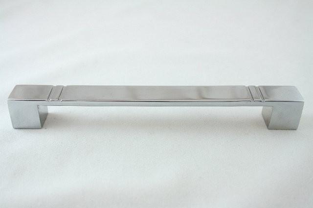 Uchwyt meblowy  UN4904, 128mm, chrom, gamet