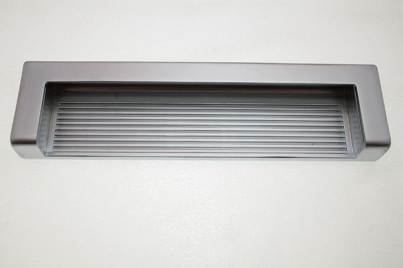 Uchwyt meblowy wpuszczany UN58/160mm aluminium