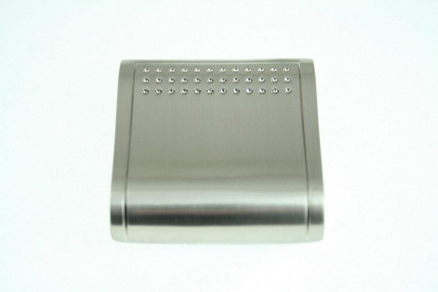 Kołatka meblowa UN6907szlif, inox, 32mm gamet