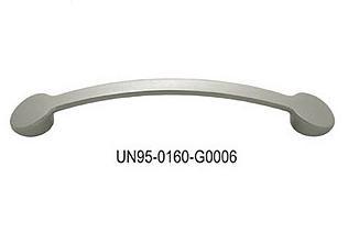 Uchwyt meblowy  UN9506, 160mm, satyna, gamet