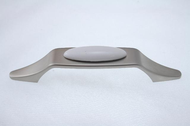 Uchwyt meblowy  UP1806-WHT-0, 96mm, satyna, gamet