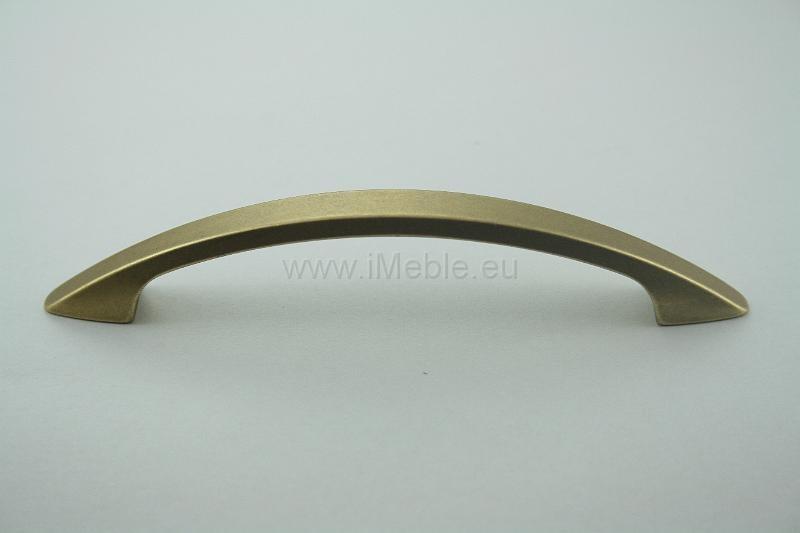 Uchwyt meblowy us2705 stare złoto gamet rozstaw 96mm