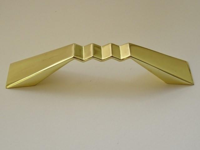 Uchwyt meblowy UU2103 złoto, rozstaw 96mm