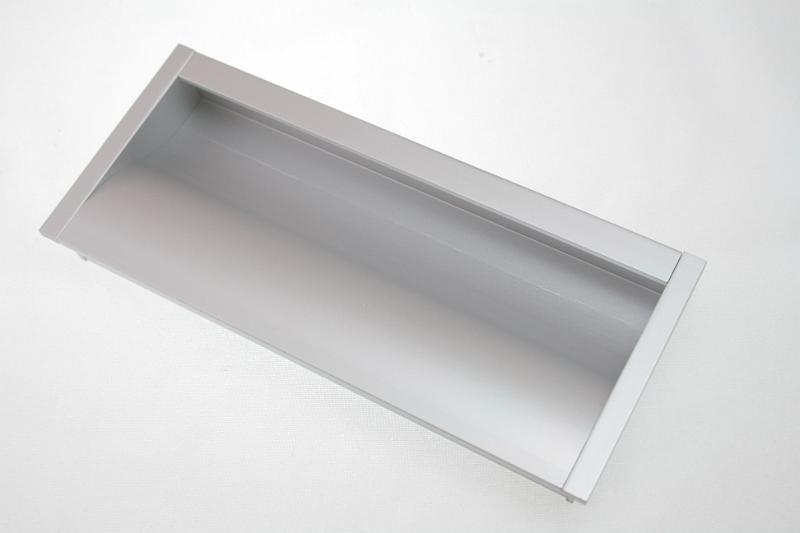 Uchwyt meblowy wpuszczany WPY-316, 128mm, aluminium
