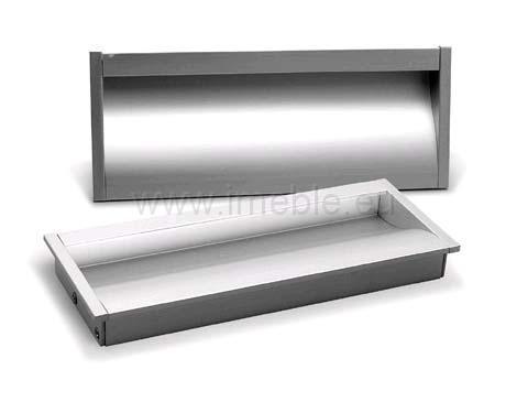Uchwyt WPY-B316/128 aluminium